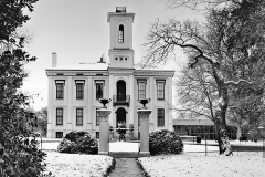 TOWER GROVE HOUSE IN WINTER  #BW319