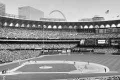 BASEBALL AT THE OLD BUSCH STADIUM  #BW131