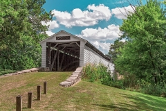 UNION COVERED BRIDGE IN SUMMER FOUR  #AM767