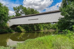 UNION COVERED BRIDGE IN SUMMER TWO  #AM746